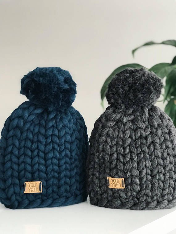 Super chunky hat with pom pom Extra soft and extra warm 100% merino wool. 23 microns merino wool Very pleasant for touch. Light and hypoallergenic. You can chose a color by yourself, be in touch ORDER DETAILS Usually it takes 1-2 week for creating a hat/scarf x WASHING Dry Clean Only Your