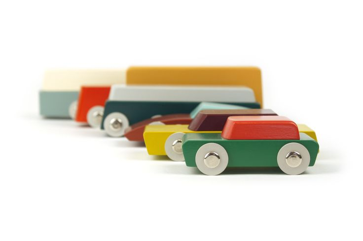 Duotone Cars by Floris Hovers for Ikonic Toys #wood #car
