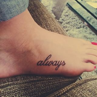 I want to get something small like this one day | 42 Insanely Magical Harry Potter Tattoos