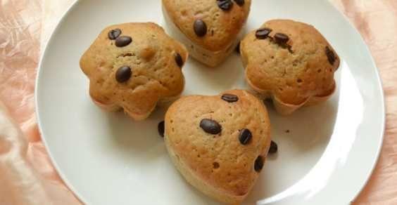 Muffin al caffé con semi di lino (ricetta vegan)