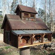 Maple Sugarhouse Bird House