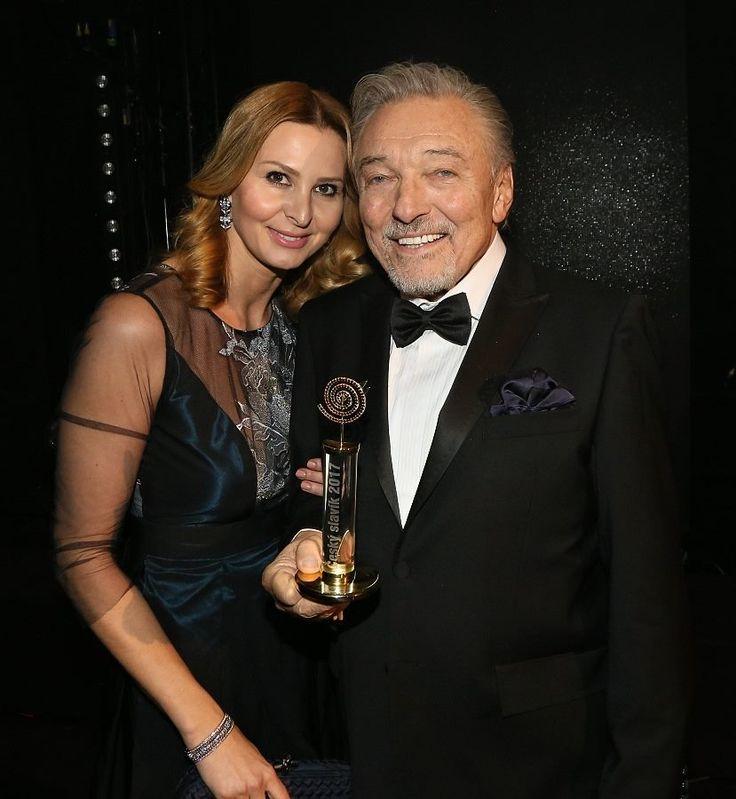 Karel Gott s manželkou, 2017