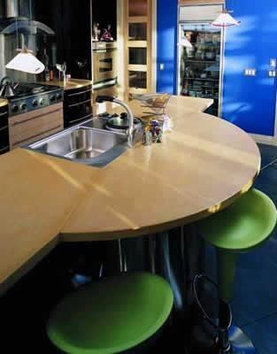 I Like This   Layout Too Beige, Curved Concrete Countertops Concrete  Revolution Denver, ...