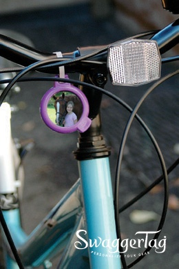 SwaggerTag Identification Tags. Personalize your bicycle. $3.99 http://swaggertag.com #cycling #bicycle #swaggertag