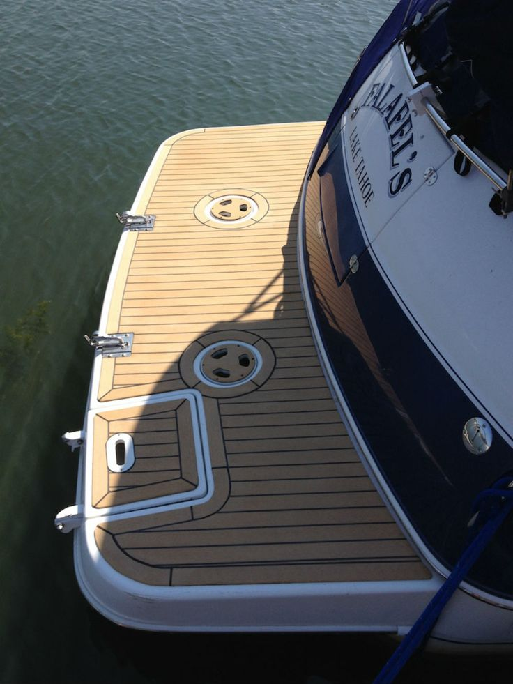 1000 images about yacht boat deck on pinterest for Non wood decking boards