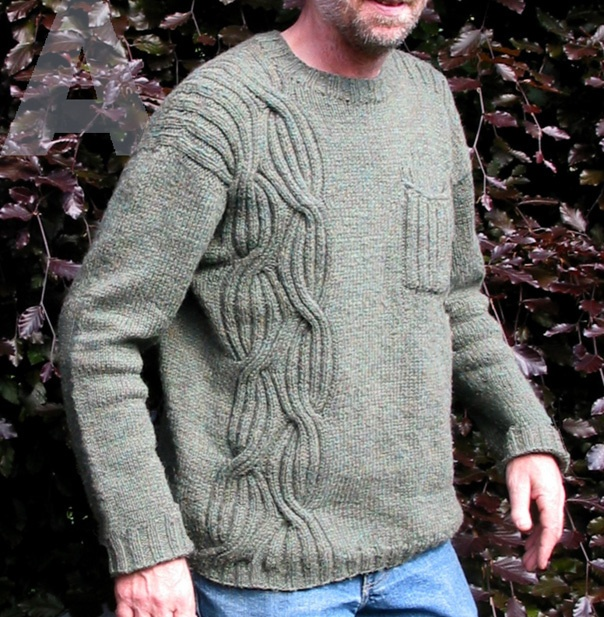 A6 men's wrapped pullover - $7.50