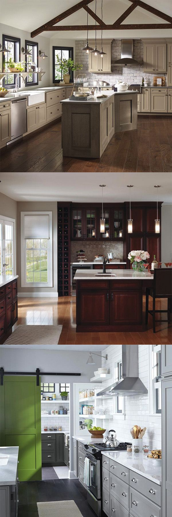20 best Traditional Elegance images on Pinterest   Cream cabinets ...