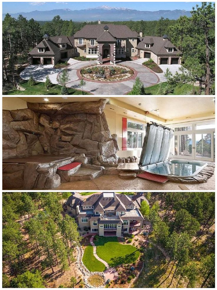 Listing Price: $4,250,000. 4th most expensive in city. Location: 4040 Saunderton Grv Colorado Springs, CO 80908.  Size: 5 beds, 10 baths, 14,090 sq ft. Lot SqFt: 1,532,441 School District: 20-Academy