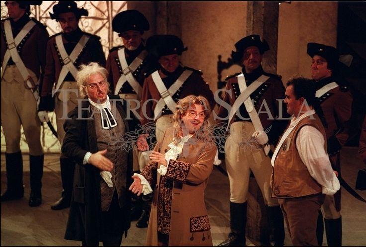 Costumi: Jean-Pierre Ponnelle Regia: Jean-Pierre Ponnelle  Teatro alla Scala Milano2002Archiviolascala.org