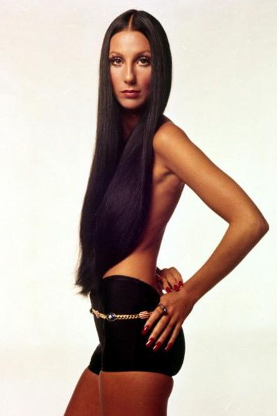 Cher 70s. Wow, does not look like this now, but she was bad back in the day.