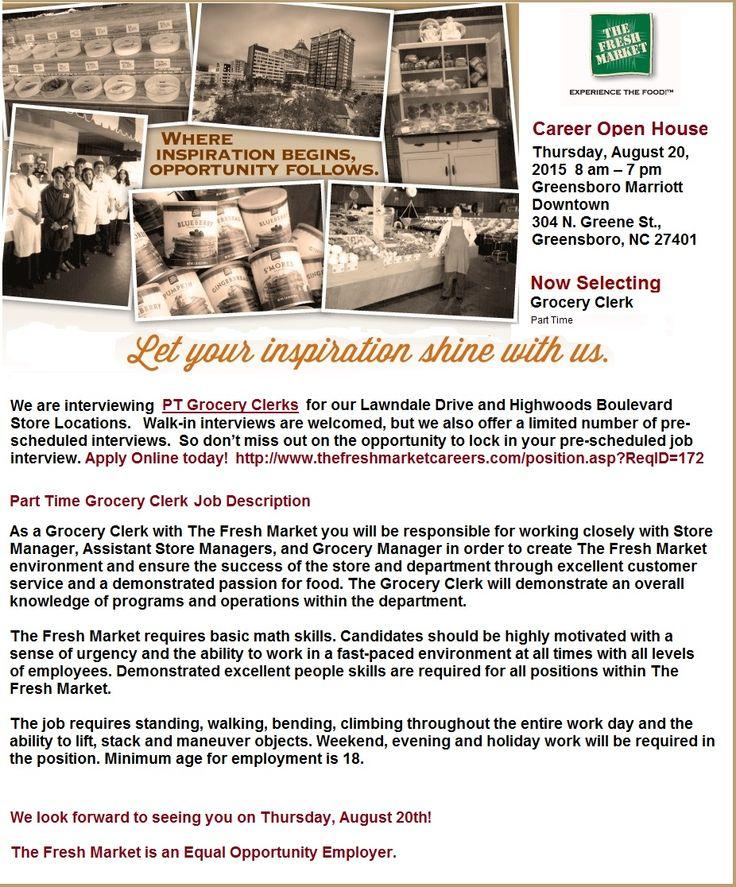 Grocery Clerk Jobs in Greensboro, NC Clerk jobs