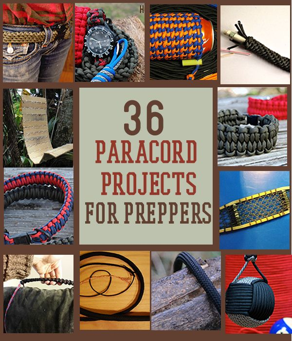 36 awesome paracord projects for preppers this weekend for Paracord projects