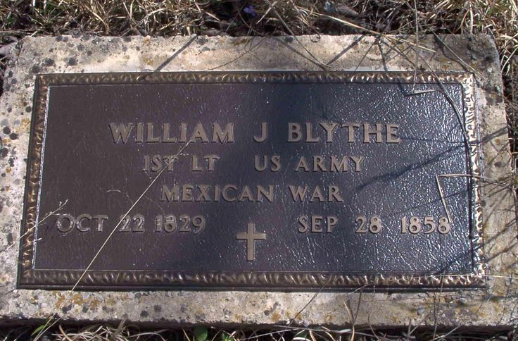 William Jefferson Blythe (1829 - 1858) - Find A Grave Photos