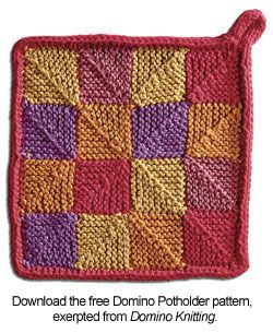 modular knitting stitches | Easy Color Knitting: Domino Knitting