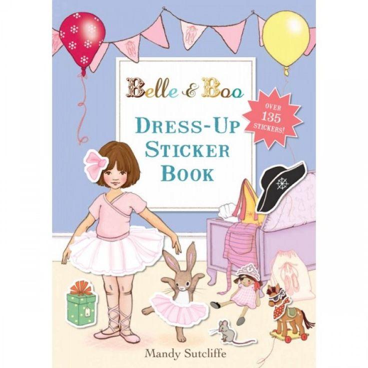 Belle & Boo Dress Up Sticker Book
