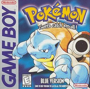 Pokemon Blue (Clearly the best Pokemon game)