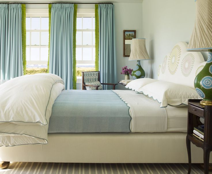 See more of katie ridder inc 39 s nantucket on 1stdibs for Lime green and turquoise bedroom