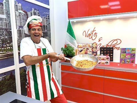 Nejlepší pravý Italský Špagety all'Amatriciana recept - YouTube