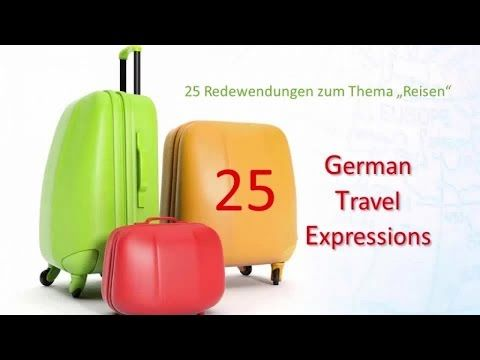 25 German Travel Expressions