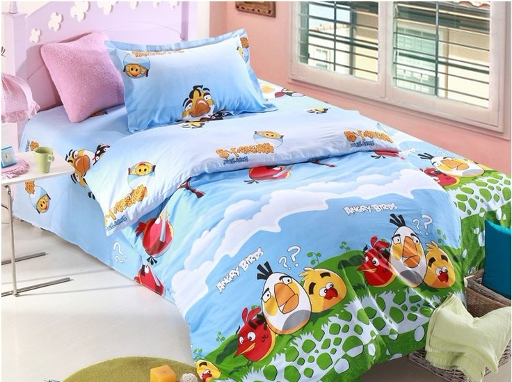 Angry birds bedding set