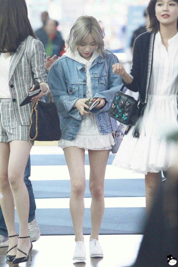 160415 SNSD Taeyeon | Incheon Airport to Jakarta