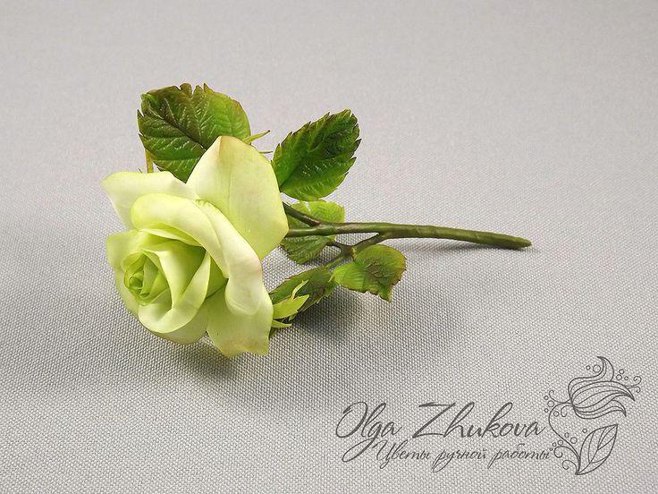 rose branch by polyflowers.deviantart.com on @DeviantArt