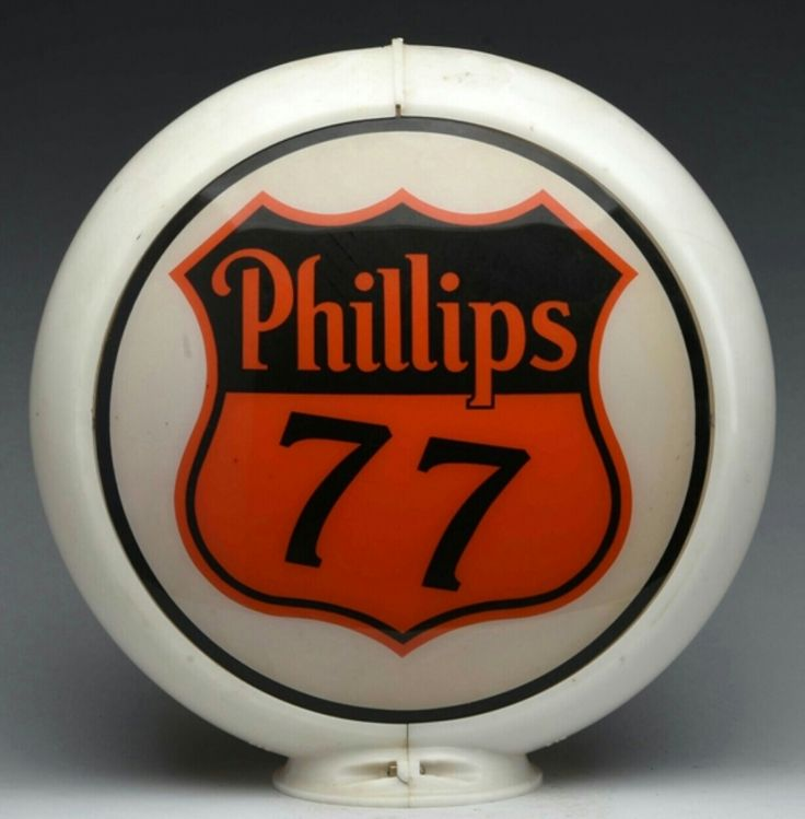 Original Phillips 77 Gas Globe