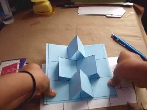 Técnicas básicas pop-up - YouTube