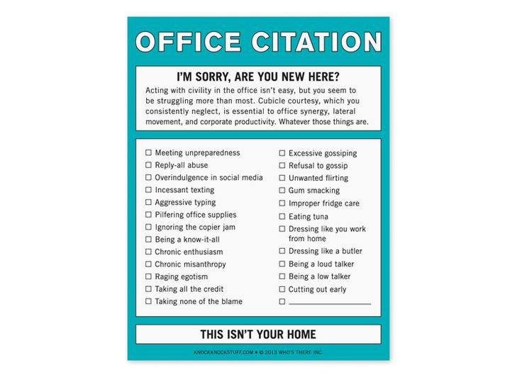Office Citation Nifty Notes - These would really come in handy.