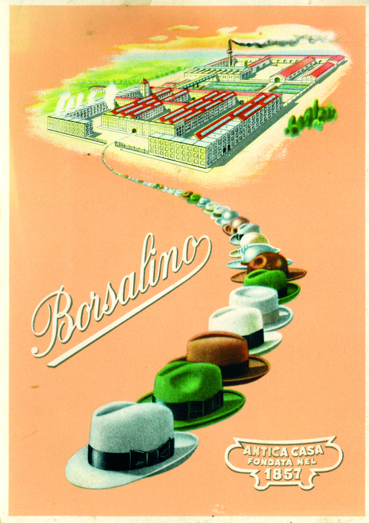 Borsalino Official Website. Man and Woman Hats Made in Italy - HERITAGE