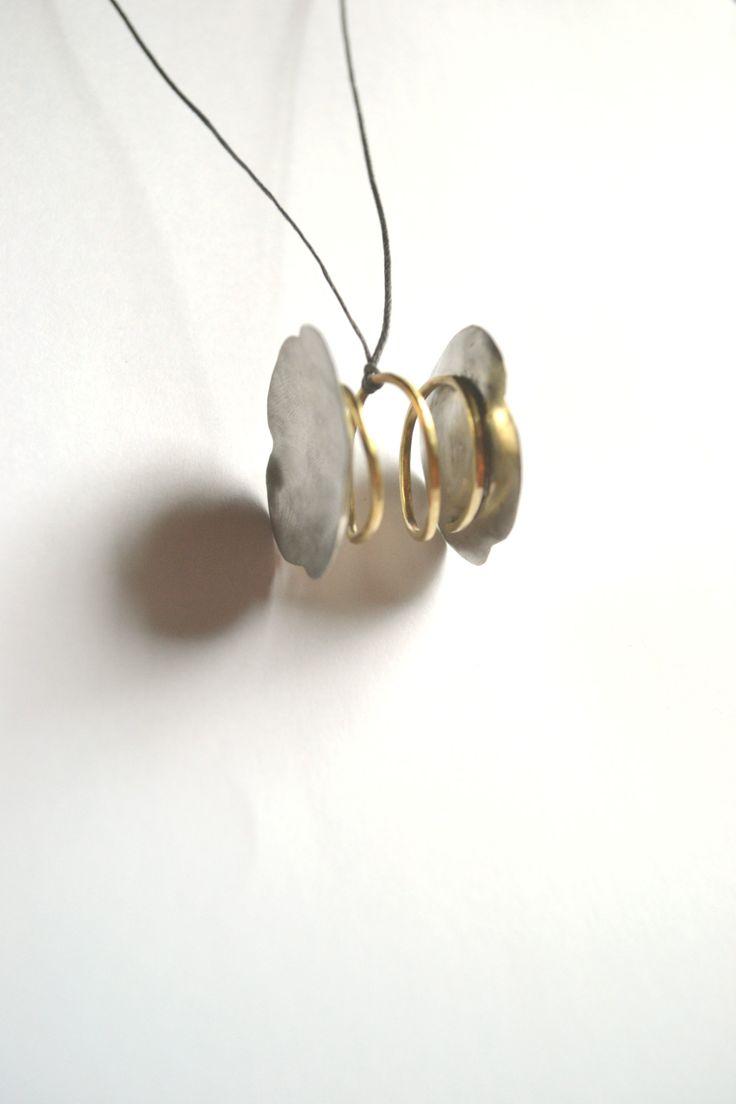 Pendant ........ metal. by Efstathia.