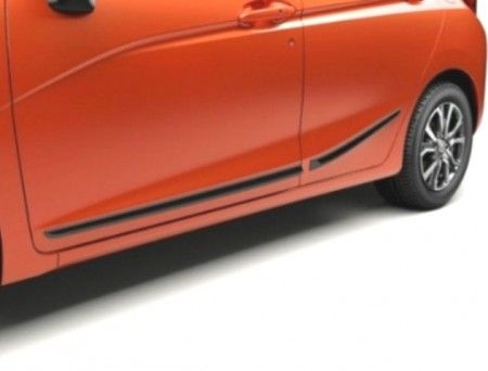 Honda Jazz Side Body Trims - Anthracite 2016- - 08P05-T5A-600