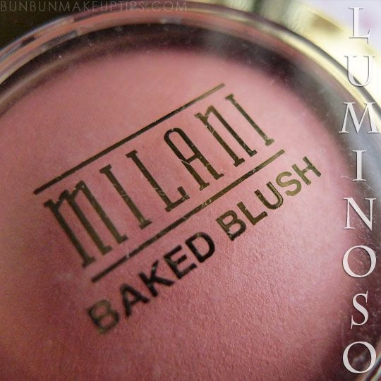 Every Girl Should Have Milani Baked Blush Luminoso In Her Makeup Bag For Warm, Glowy Cheeks! | Bun Bun Makeup Tips and Beauty Product Reviews