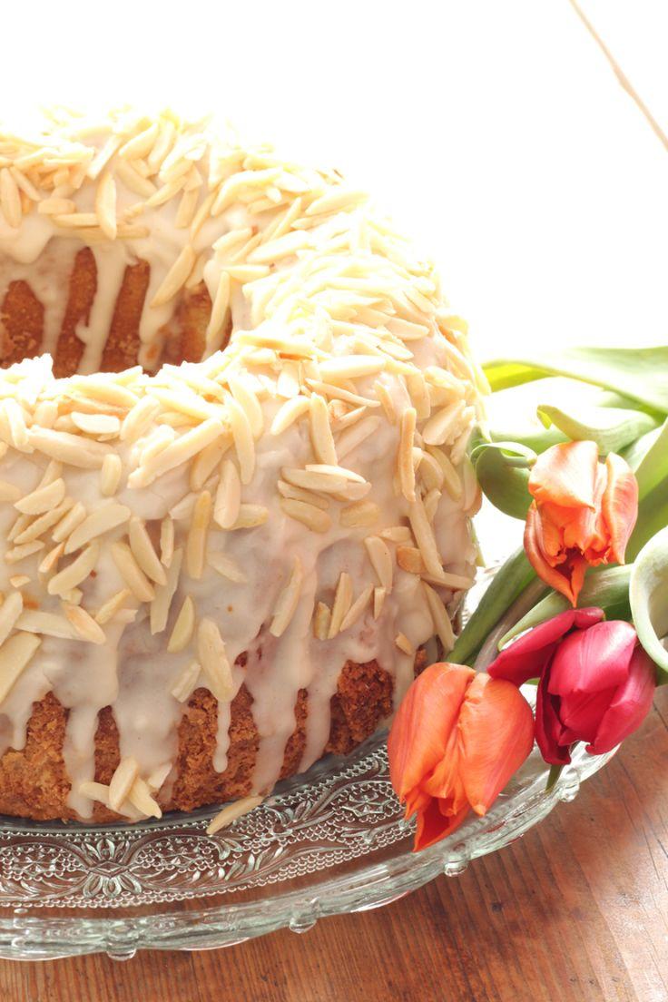 Amaretto-Mandel-Rührkuchen schnell & einfach #Rezept