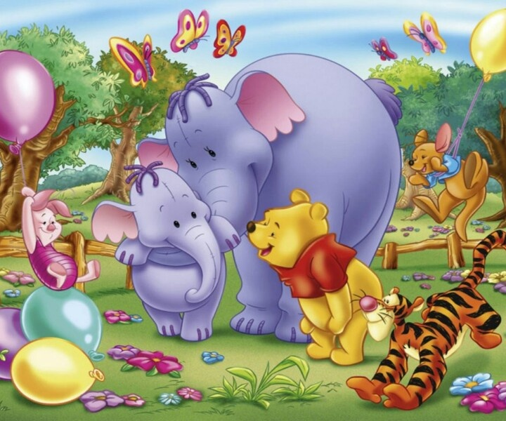 Wallpaper Winnie The Pooh: 26 Best Images About Lumpy Heffalump On Pinterest