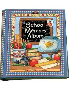 Graduation Gift:School Memory Album: A Collection Of Special Memories, Photos, And Keepsakes From Kindergarten Through Sixth Grade [Hardcover-Spiral] -- by Karen J. Goldfluss (Author), Susan Winget (Artist)