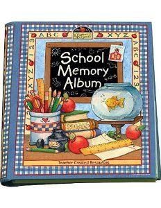 Graduation Gift:School Memory Album: A Collection Of Special Memories, Photos, And Keepsakes From Kindergarten Through Sixth Grade [Hardcover-Spiral] -- by Karen J. Goldfluss (Author), Susan Winget (Artist)