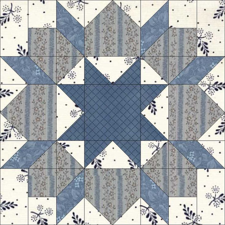 12-25. Our block for Christmas Day is Star of Bethlehem (Hall, 1935; Aunt Martha Series; Home Art) …actually a slight variation without the corner triangles, and with a variable star centre, vs, an an 8t-pointed star (drafted on a circle).