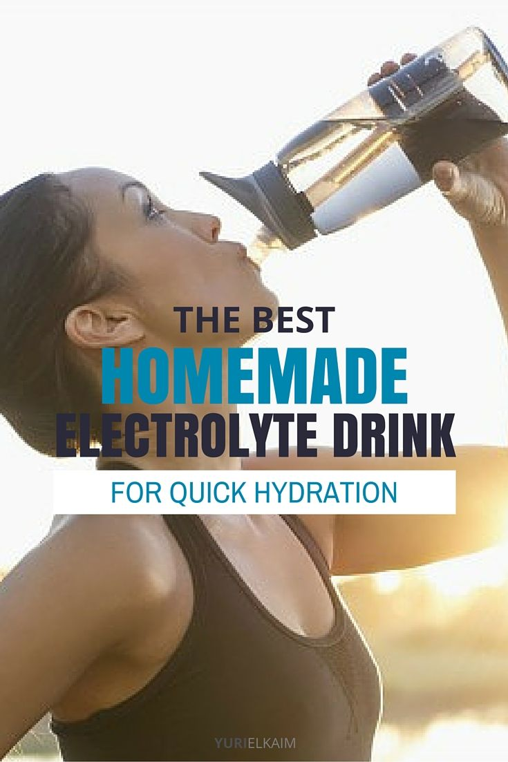 Give your body what it needs in this easy, inexpensive homemade electrolyte drink that will keep you feeling fresh and strong throughout your workout. | Yuri Elkaim