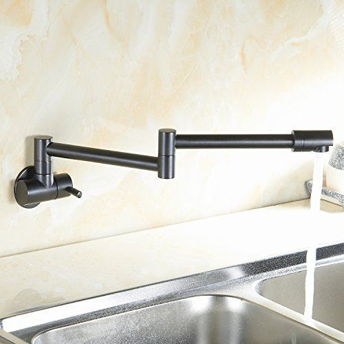 Eyekepper Cold Water Only Wall Mount Single Handle Lever Control Pot
