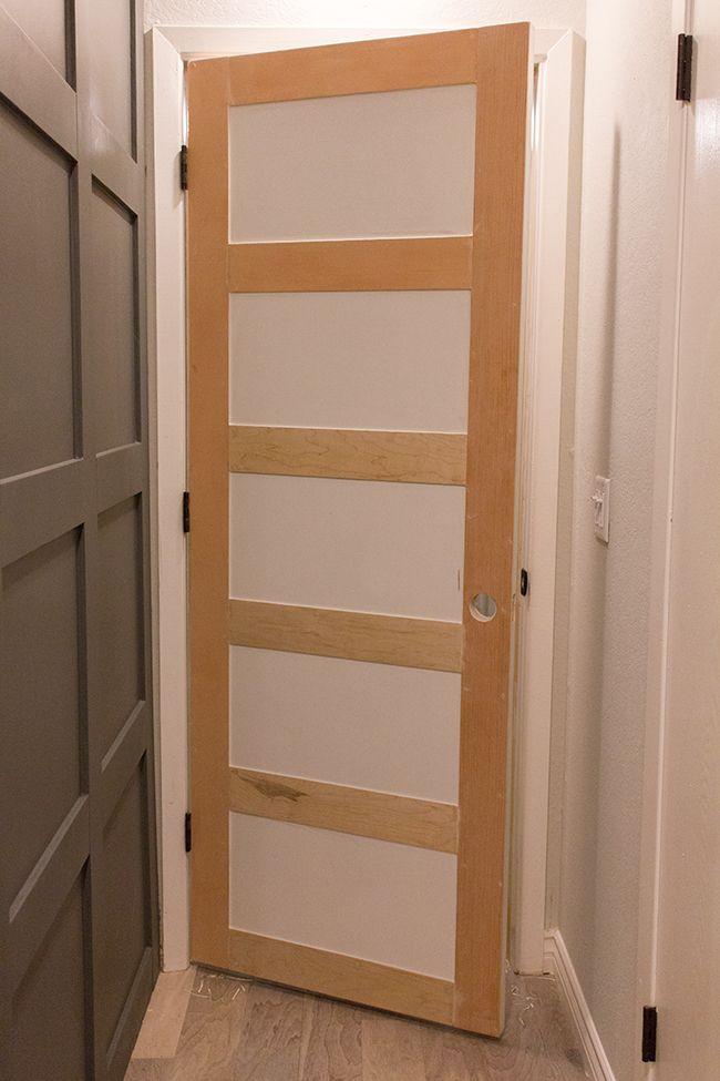 Master Makeover Diy Plain To Paneled Door Door Panels