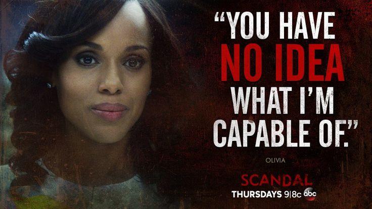 Olivia Pope #Scandal                                                                                                                                                     Más