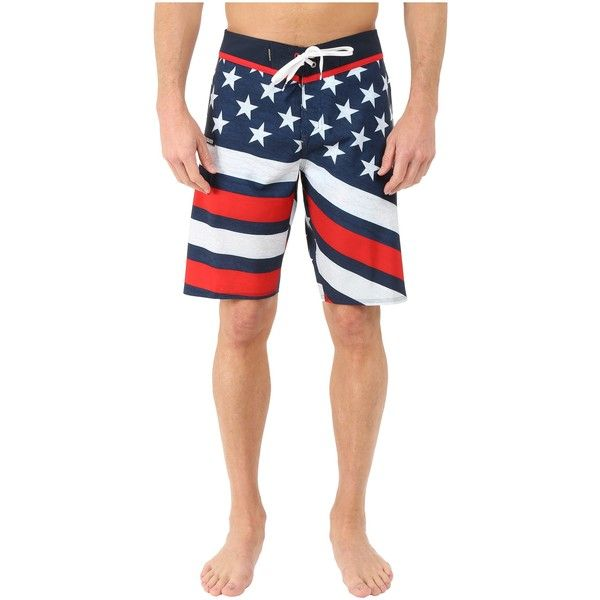 Quiksilver 4th of July Luau 21 Boardshorts (Navy Blazer) Men's... (105 BRL) ❤ liked on Polyvore featuring men's fashion, men's clothing, men's swimwear, navy, mens short swimwear, mens board shorts swimwear, men's apparel, mens clothing and quiksilver mens clothing