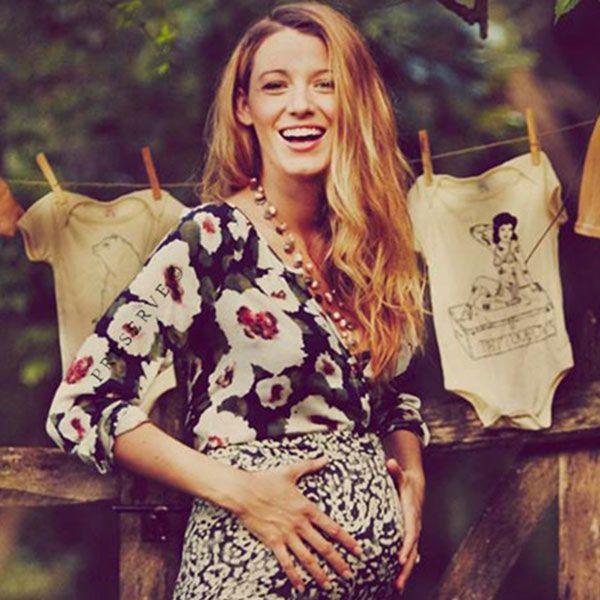 Blake Lively Pregnant - Harper's BAZAAR Magazine