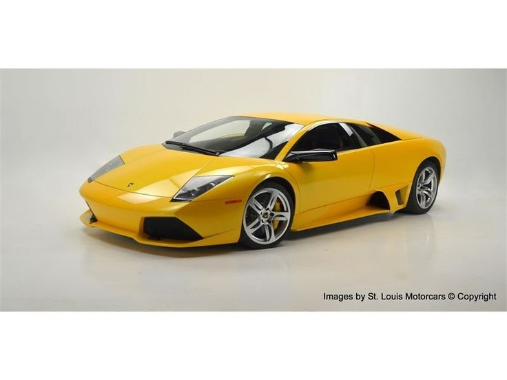 2007 Lamborghini Murcielago For Sale at St. Louis Motorcars  ||  Buy this 2007 Lamborghini Murcielago For Sale on duPont REGISTRY. Click to view Photos, Price, Specs and learn more about this Lamborghini Murcielago For Sale. http://www.dupontregistry.com/autos/listing/2007/lamborghini/murcielago/1754176?utm_campaign=crowdfire&utm_content=crowdfire&utm_medium=social&utm_source=pinterest