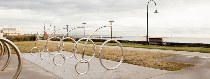 PENNY FARTHING -  This rack isn't just bike parking, it's a piece of public art. Add value to your streetscape and help improve bicycle culture in your city.