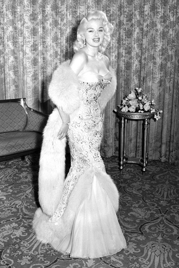 Diana Dors in 1956