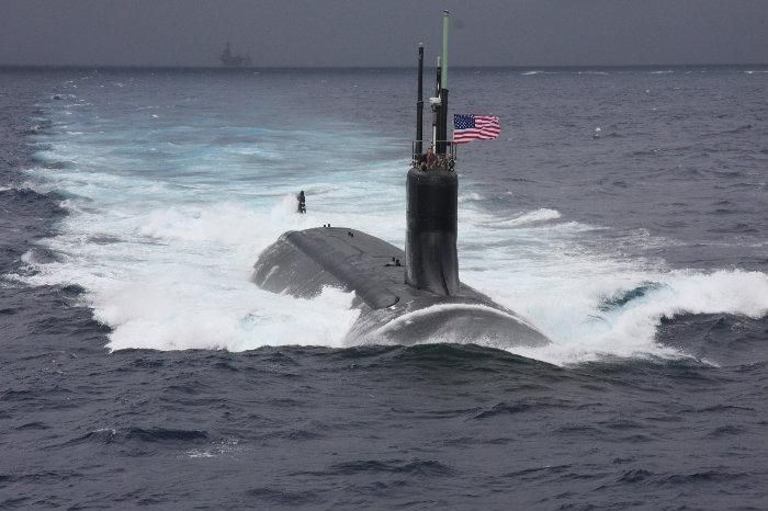 Seawolf Class, USA The Cold War has provoked the US Navy to plan 29 Seawolf Class submarines, yet 26 of them were canceled overtime. Only three were produced and they are all active. While only limited by food supplies, these submarines can host 140 man crews, MK-48 torpedoes and Tomahawk cruise missiles.