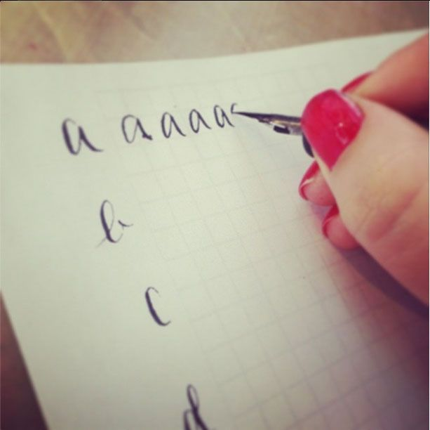 Learn the art of calligraphy free printable