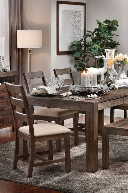 BLACK FRIDAY EXTENDED The 5 Piece Alpine Retreat Dining Set Is Now Just 749 Sale Ends 12 3 18 Blackfriday Furniturerow